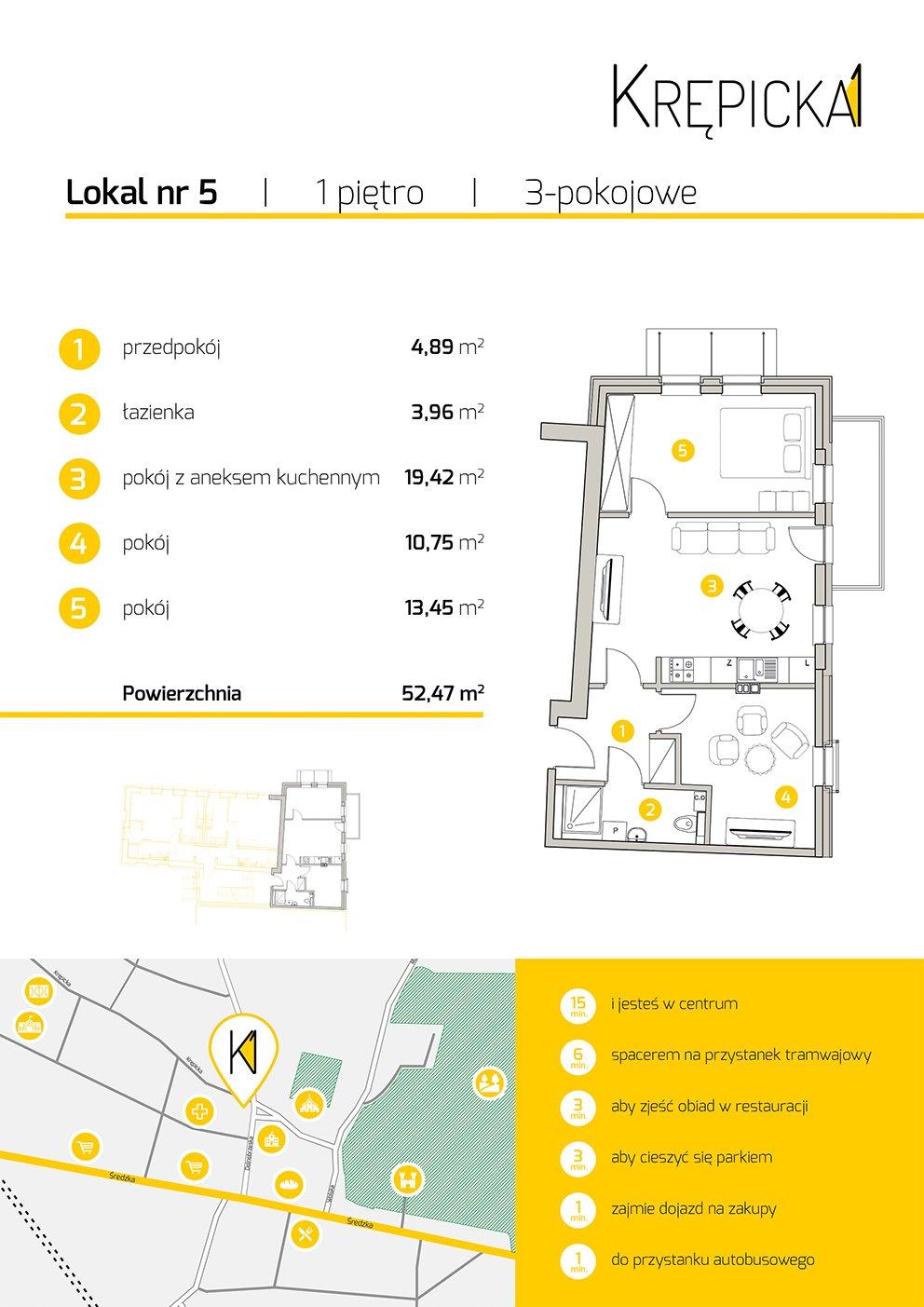 Karta mieszkania 5